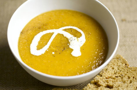sweet potato parsnip soup THUMB