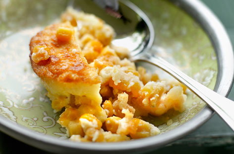 Real Creamed Corn Pudding Recipe — Dishmaps