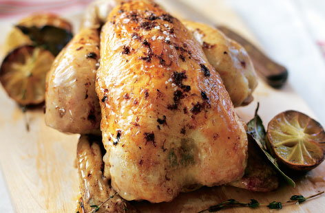 zesty roast chicken HERO