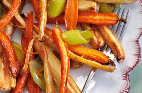 zesty roasted veg