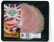 British Sage & Onion Breaded Ham di