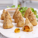 Finest 10 Chicken Satay Pyramids with Satay Dip, £4 resize