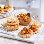 Finest 12 Red Thai Chicken Curry Cakes, £4 resize