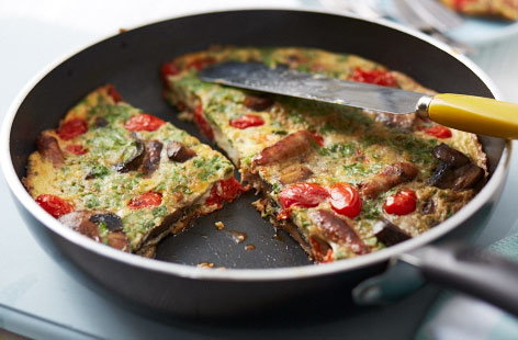 HE BREAKFASTFrittata
