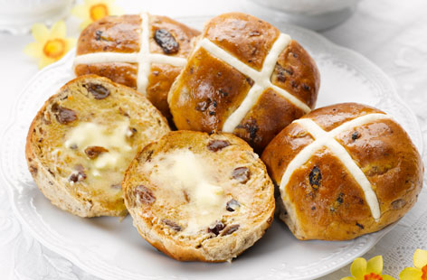 Hot Cross Buns Hero