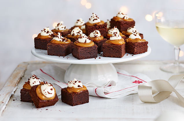 Christmas canap s canap s ideas tesco real food for Canape dessert ideas