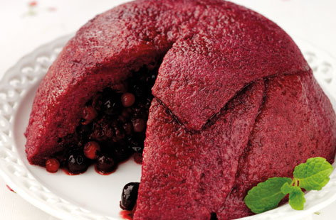 Wholemeal Summer Pudding (h)