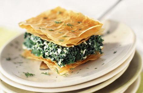 Spanakopita Recipe | Pie Recipes | Tesco Real Food