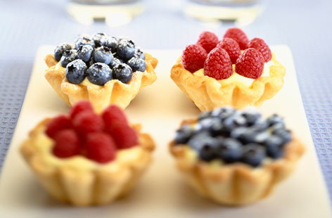 Mini summer fruit tarts recipe