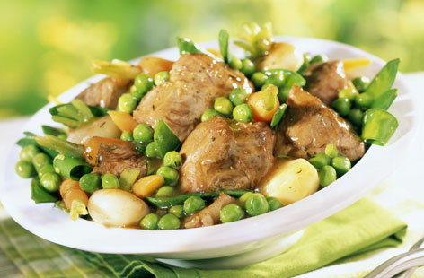 Lamb navarin with spring vegetables tesco real food for Navarin recipe