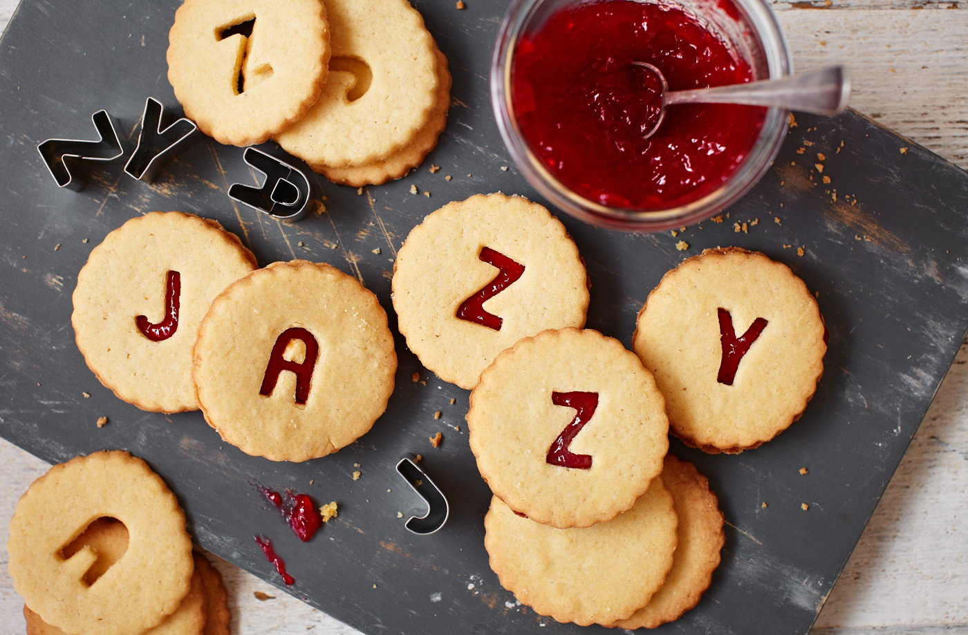 jazzy jammie dodgers | tesco real food