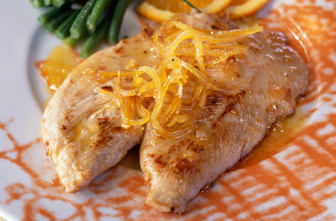 123240 Turkey Escalopes Honey Citrus HERO