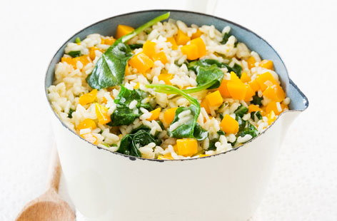 125035 spinachandpumpkinrisotto HERO