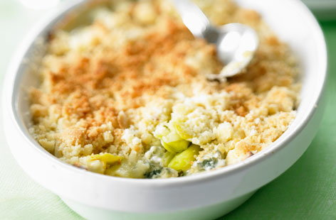 130507 leek and blue cheese savoury crumble THUMB