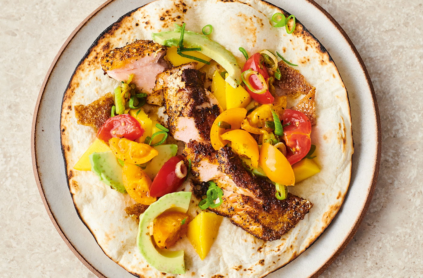 Crispy Salmon Tacos Jamie Oliver Recipes Tesco Real Food