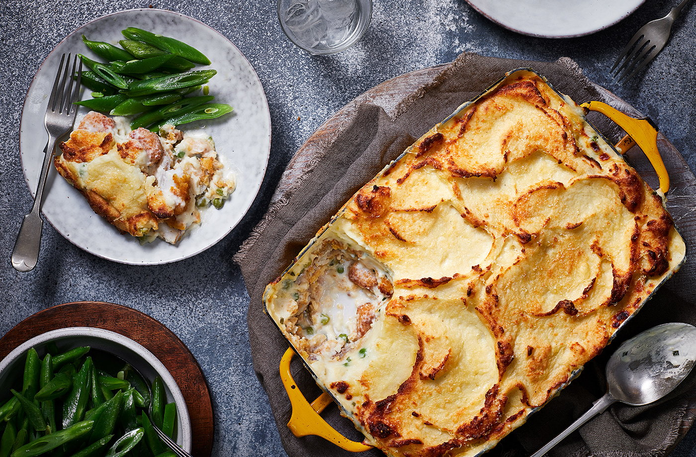 Fish finger pie recipe