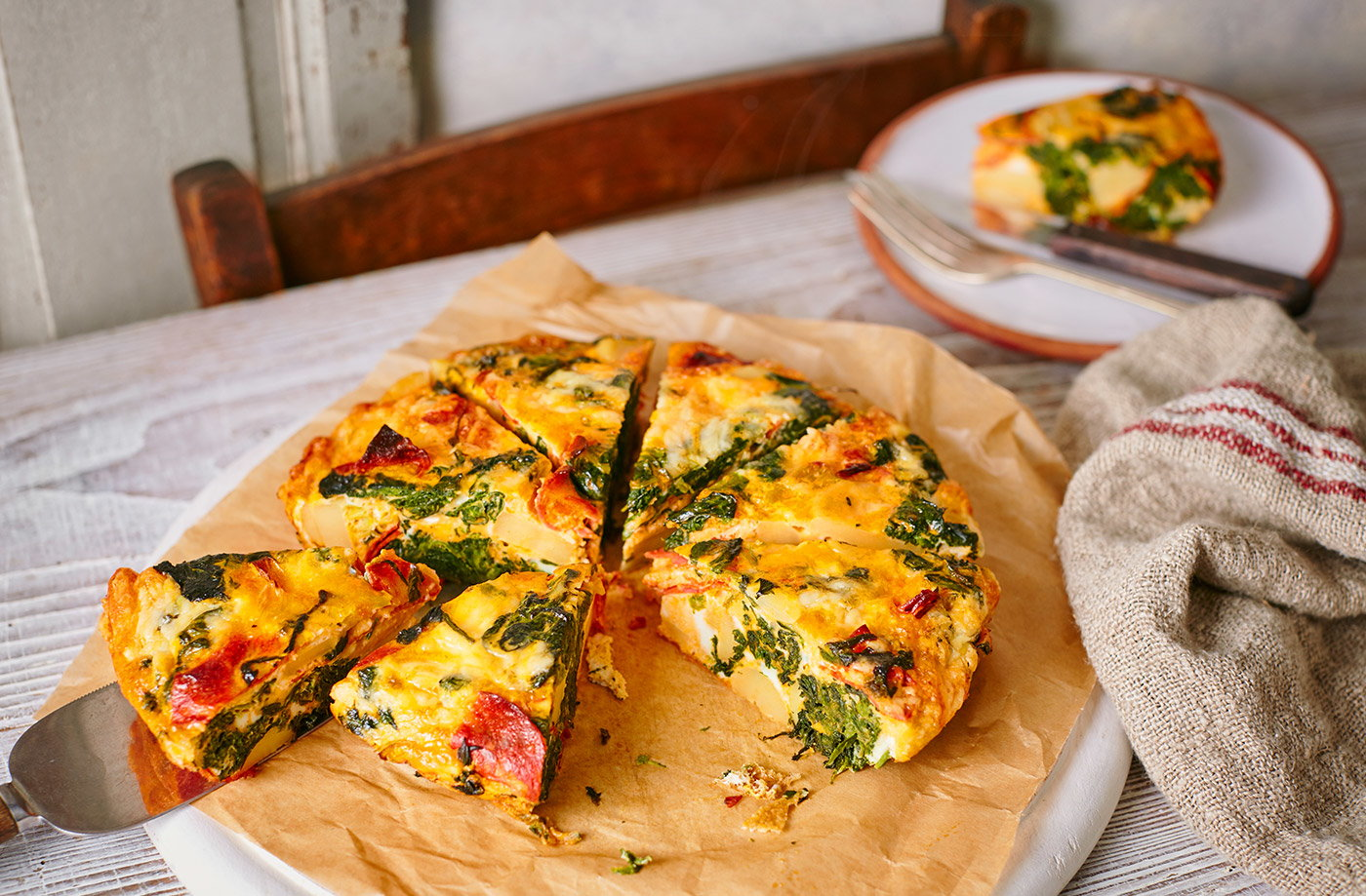 Whether meaty or packed with veg, we've got great frittata recipes for breakfast, lunch and dinner.