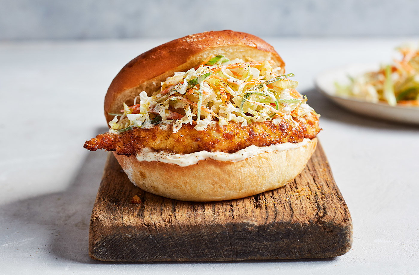 Chicken Katsu Burger Jamie Oliver Recipe Tesco Real Food