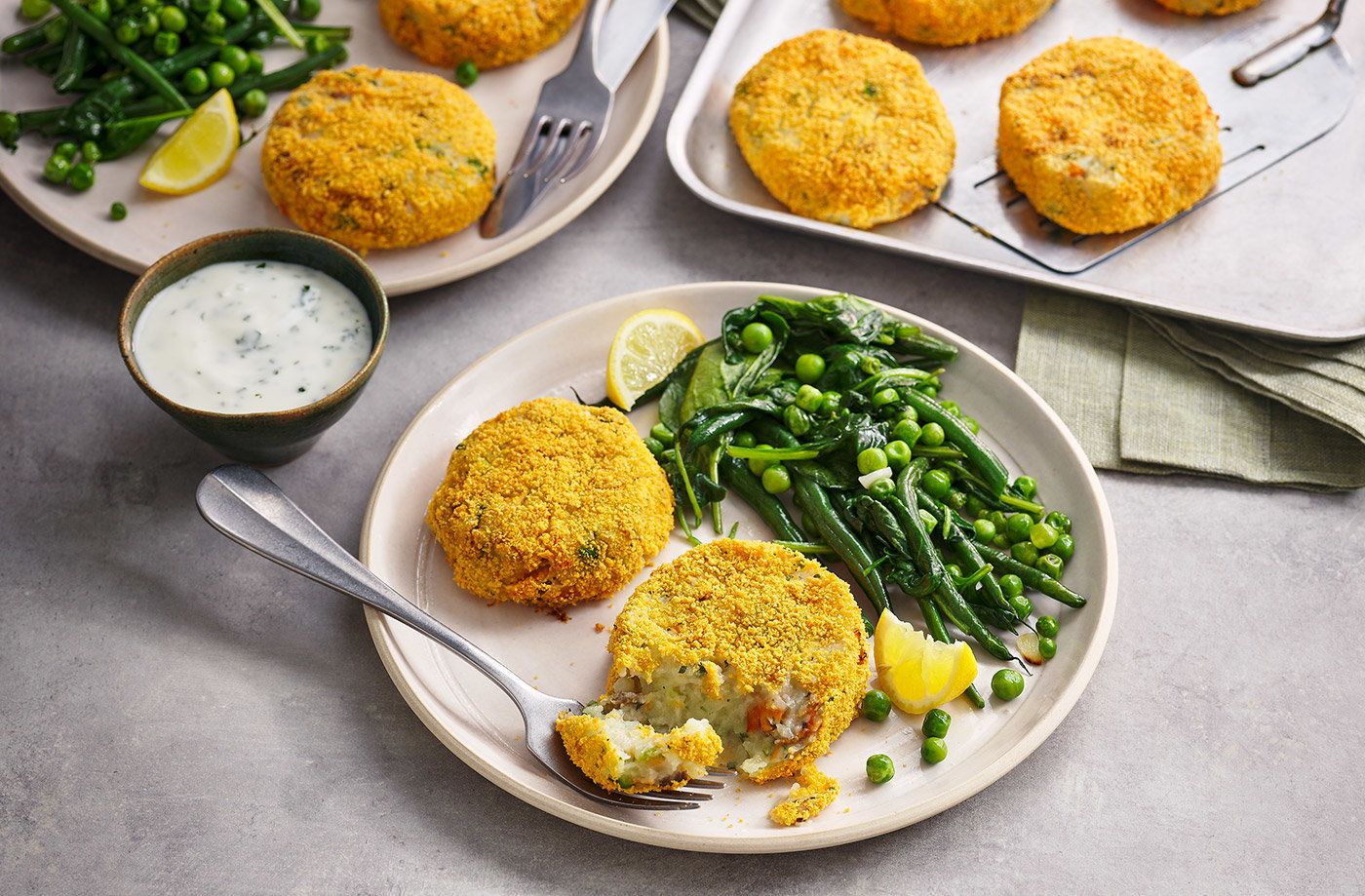 Kipper fishcakes recipe