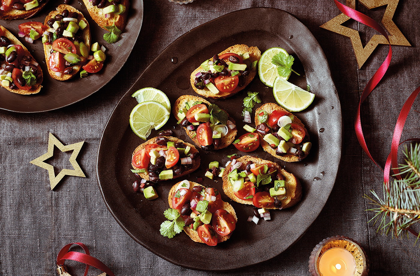 Mexican crostini recipe