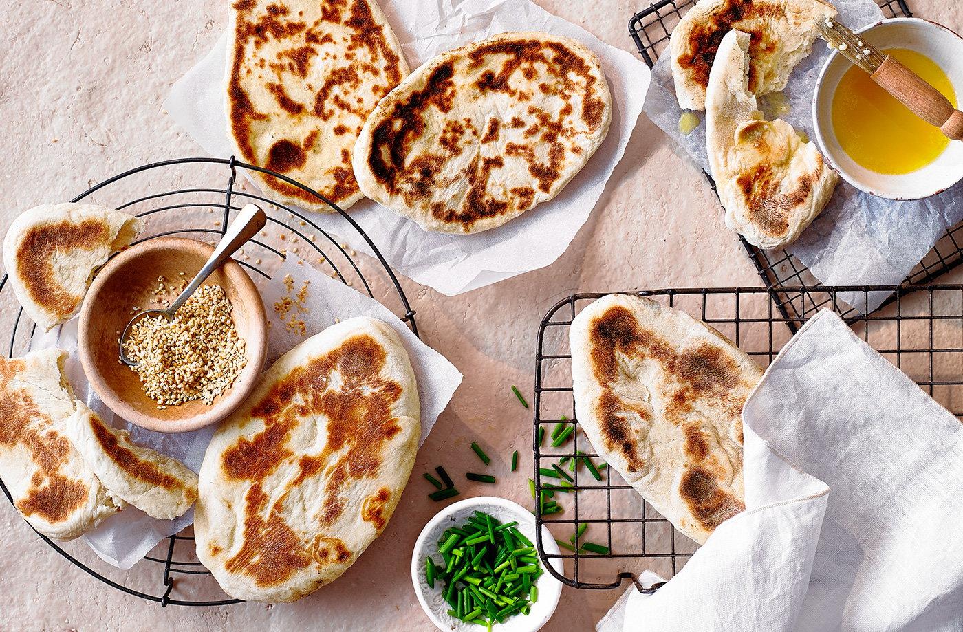 Easy Naan Bread Tesco Real Food