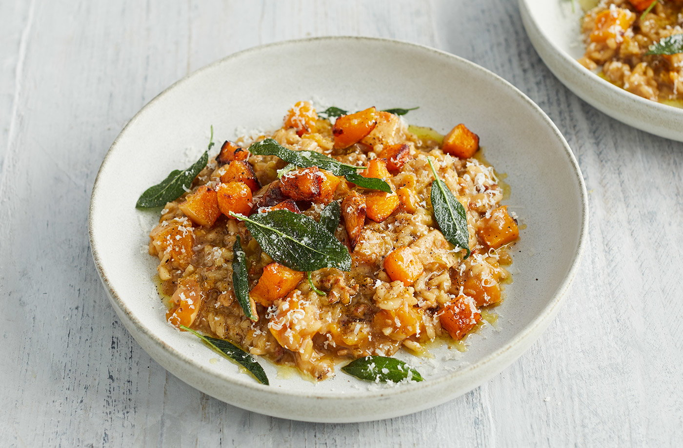 Pork and squash risotto recipe