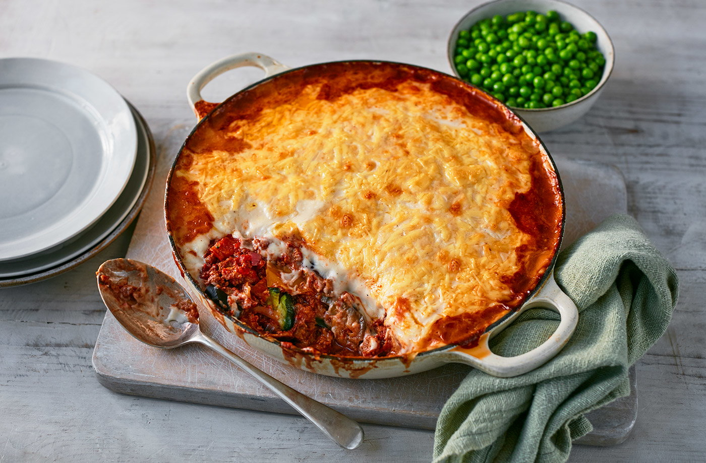 Veggie Moussaka Style Bake Vegetarian Recipes Tesco Real Food