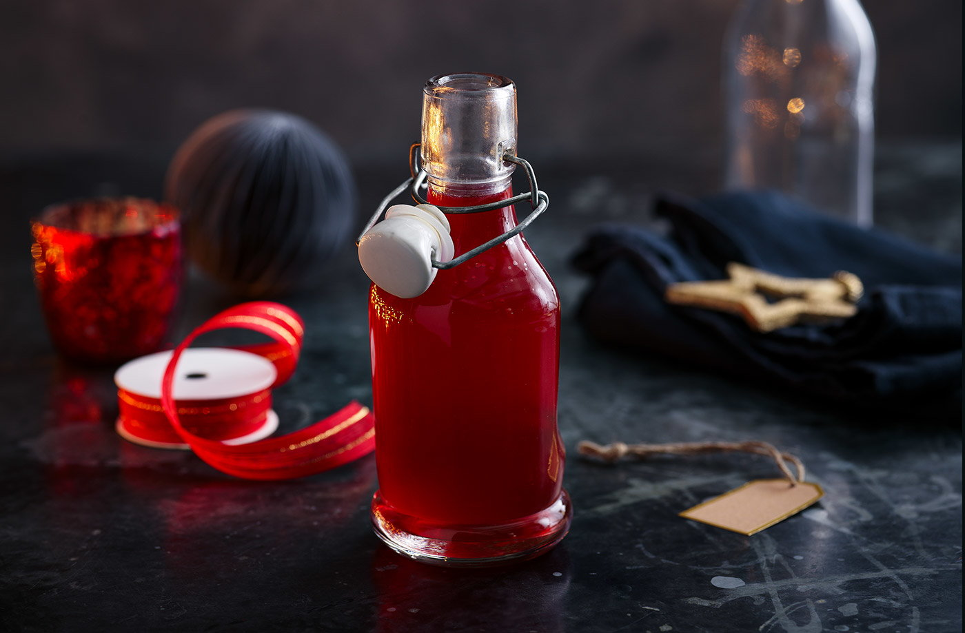 Winter cranberry syrup recipe