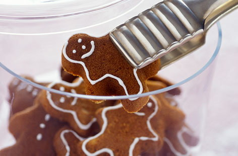 Delicious Christmas gingerbread men