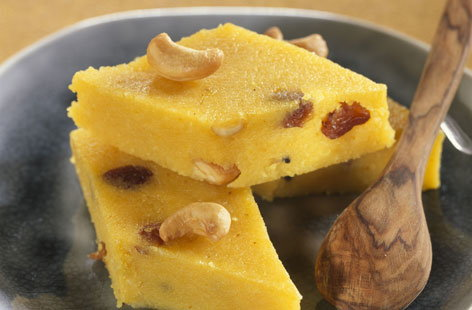 Kesari Indian Semolina Cake Tesco Real Food
