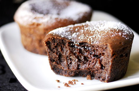 Classic chocolate fondant recipe