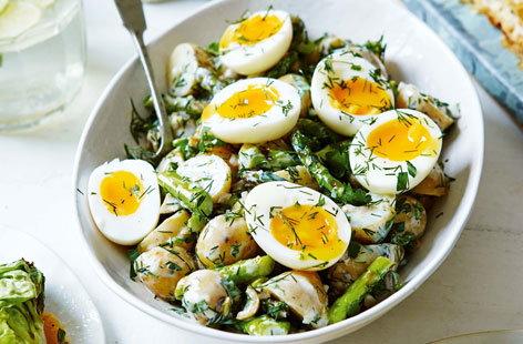 Салат из яиц фото