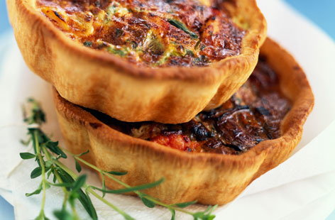 152696 salmon and leek savoury tart HERO