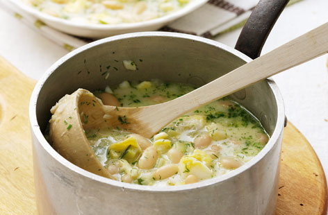 162701 White bean and zucchini soup HERO