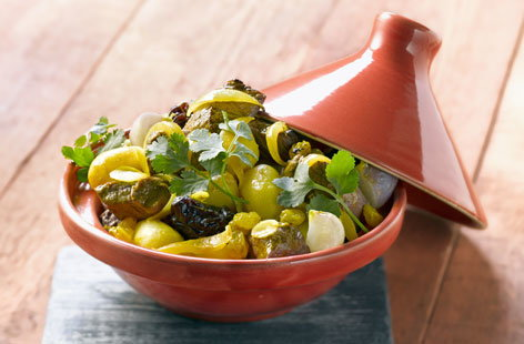 Beef and dried fruit tagine