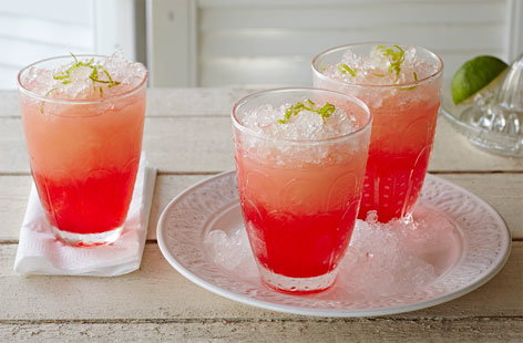 Grapefruit julep