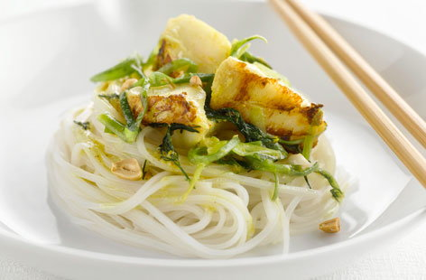 Vietnamese fish and noodles | Tesco Real Food