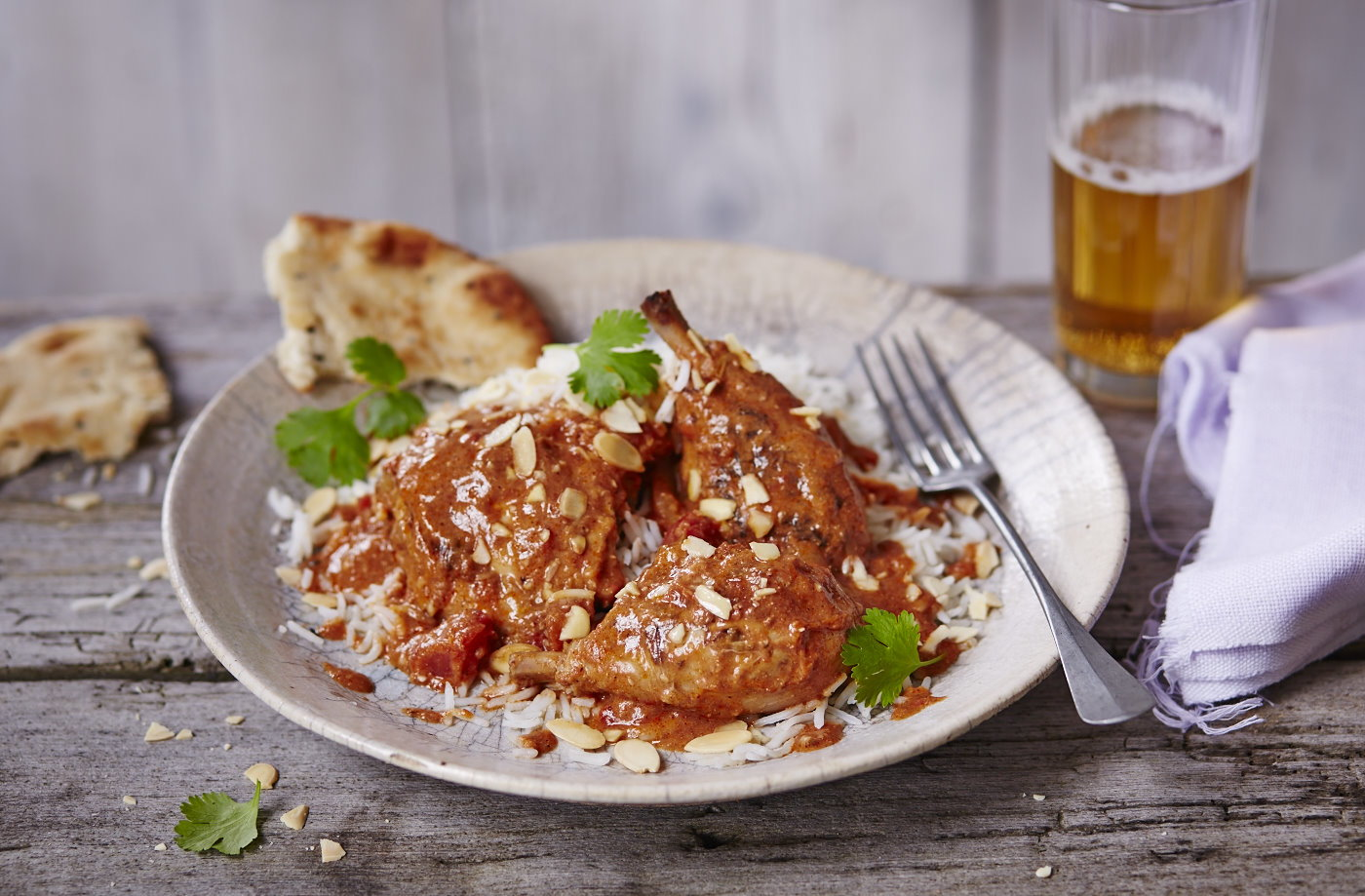 Slow-cooked chicken in tikka masala sauce recipe