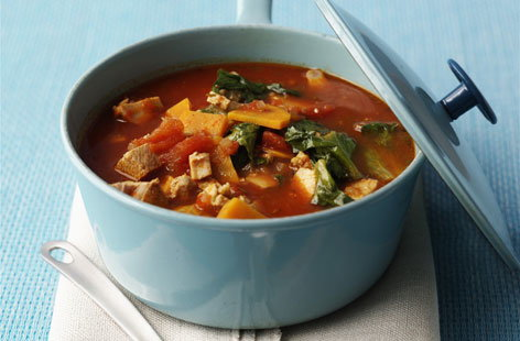 Tofu and vegetable stew