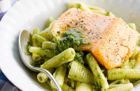 179051 Thumb Salmon With Pasta