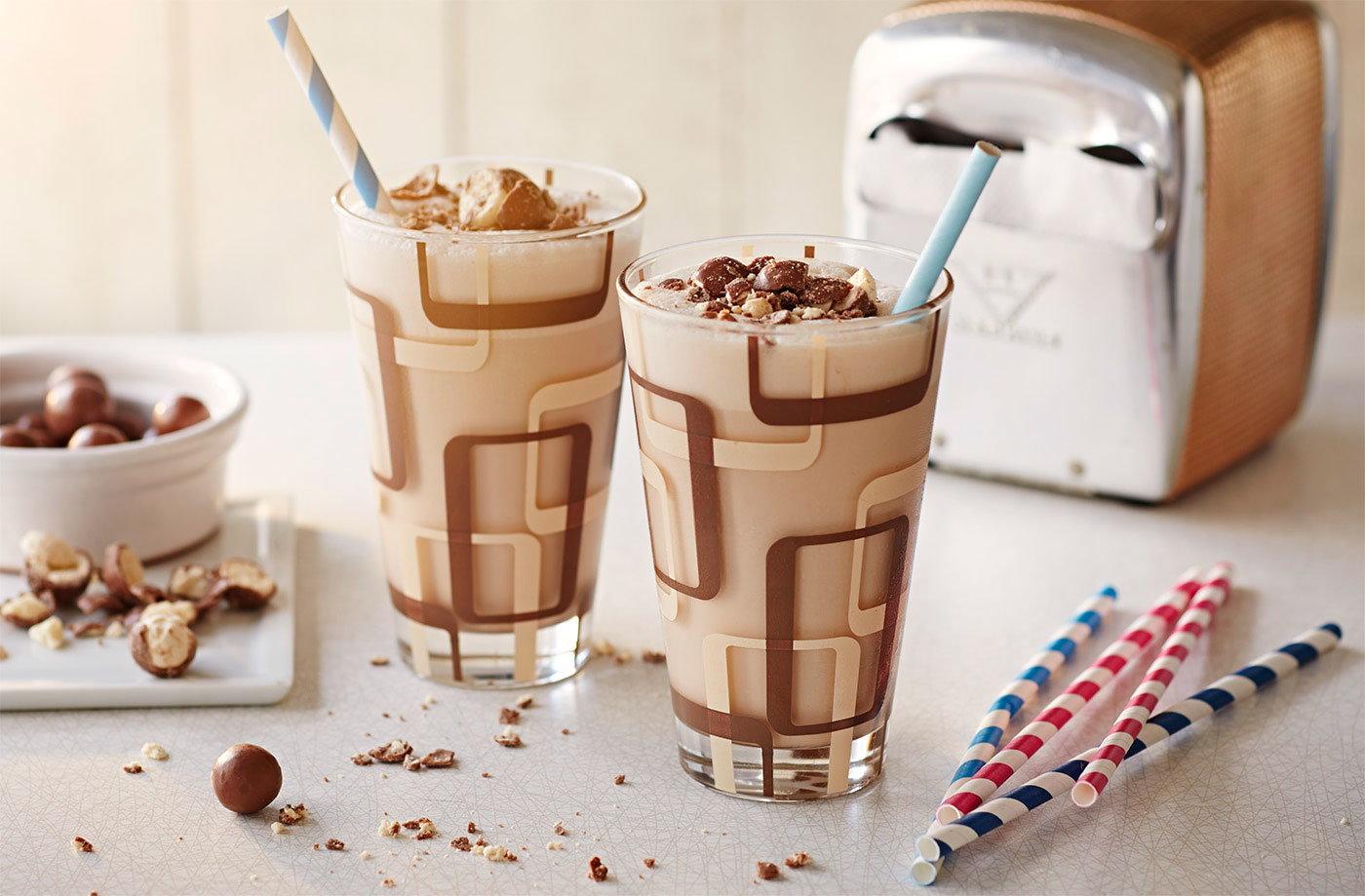 Malted vanilla ice cream milkshakes tesco real food malted vanilla ice cream milkshakes recipe ccuart Images