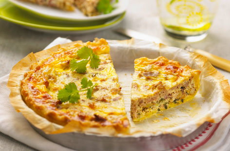 Tuna quiche recipe