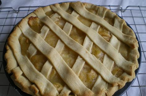 Criss Cross Apple Pie