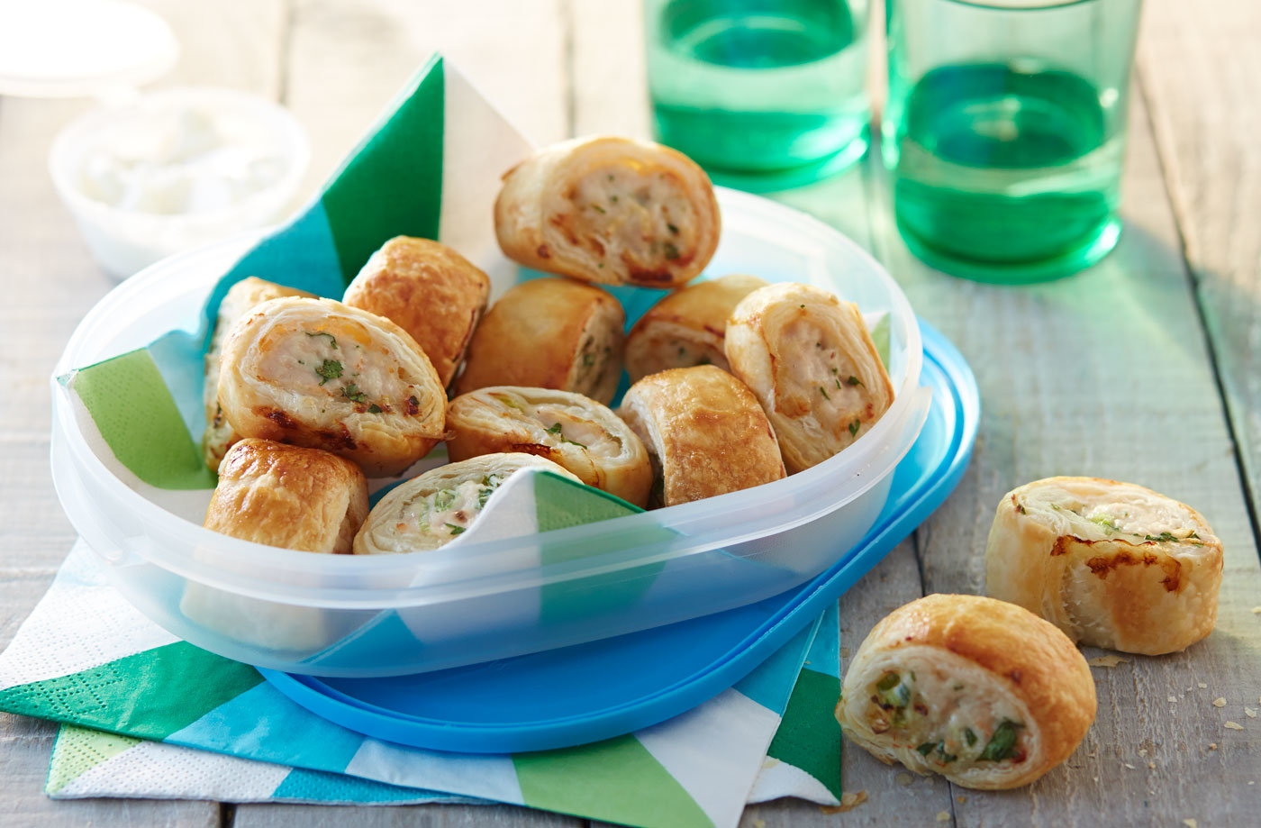 Chicken sausage rolls recipe