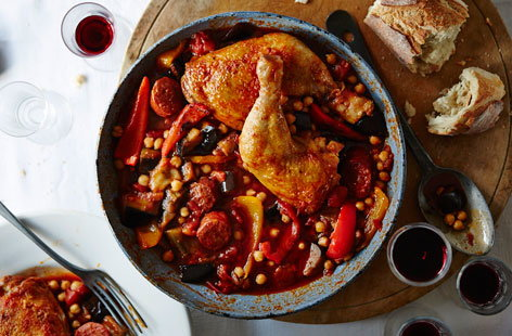 This delicious Moroccan-inspired stew is packed with flavour and has a fiery kick
