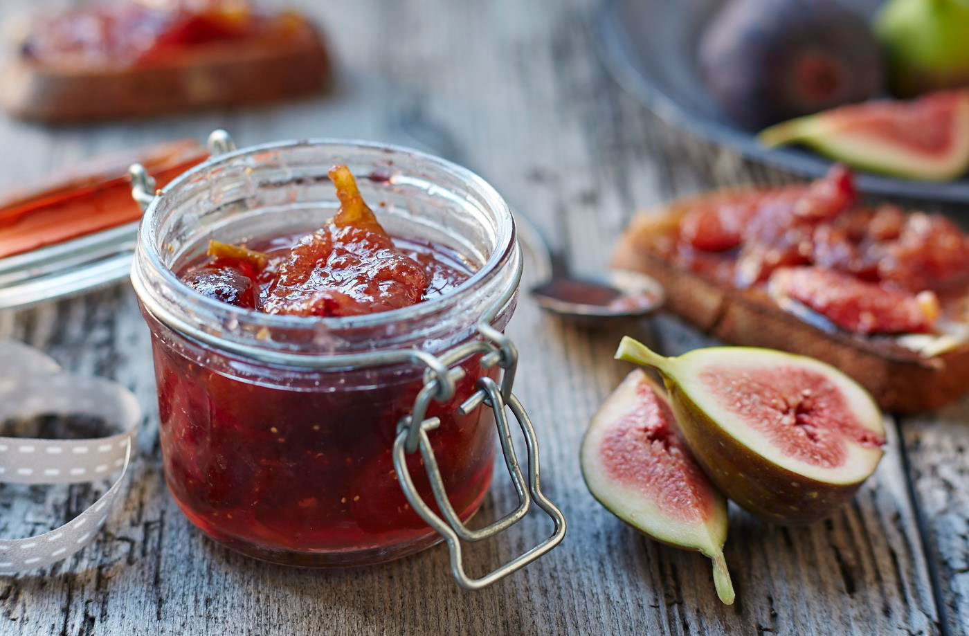 Fig and ginger jam recipe