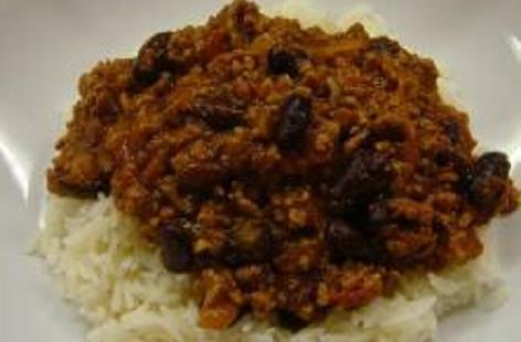 Easy chilli con carne