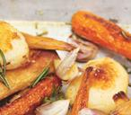 Paprika-Roasted Parsnips and Carrots