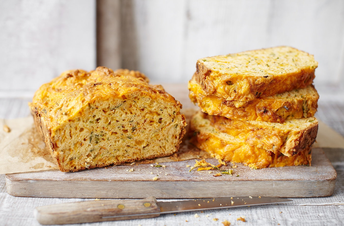 Courgette and carrot bread recipe