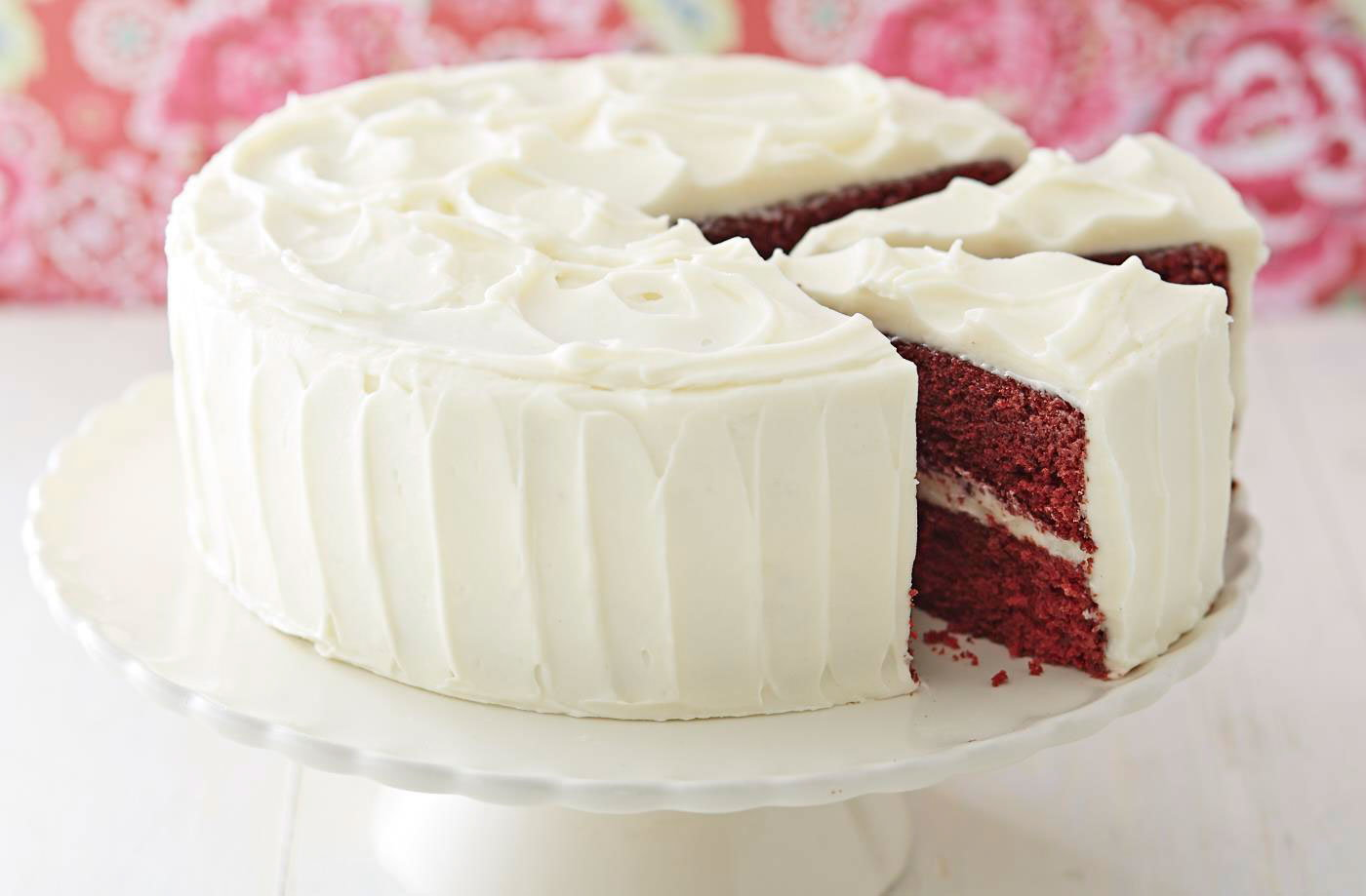 Strawberry Velvet Cake Recipe
